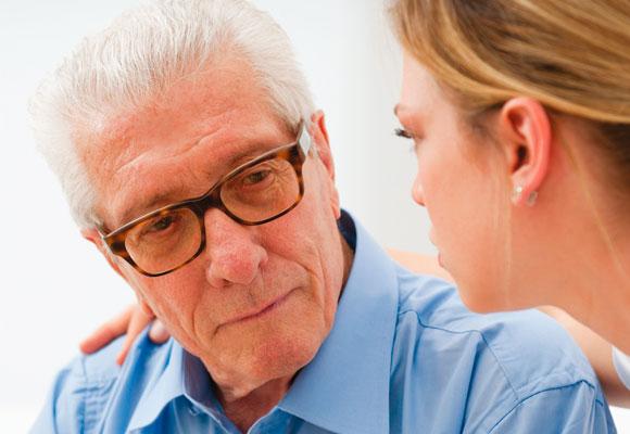 depressão cuidar idosos