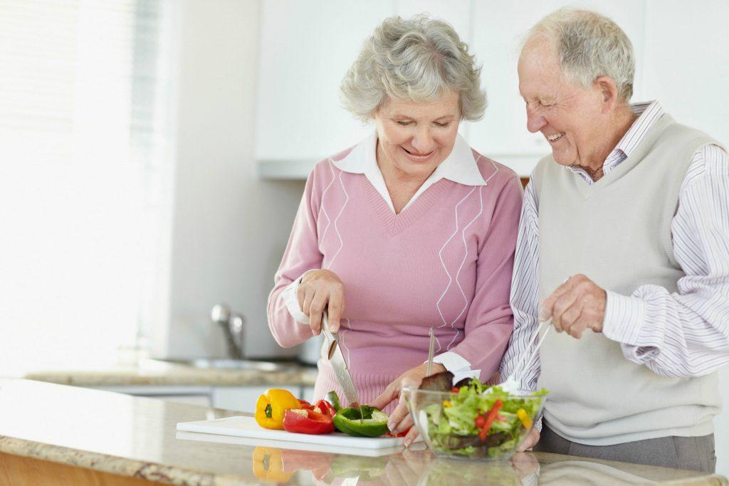 alimentação de idosos