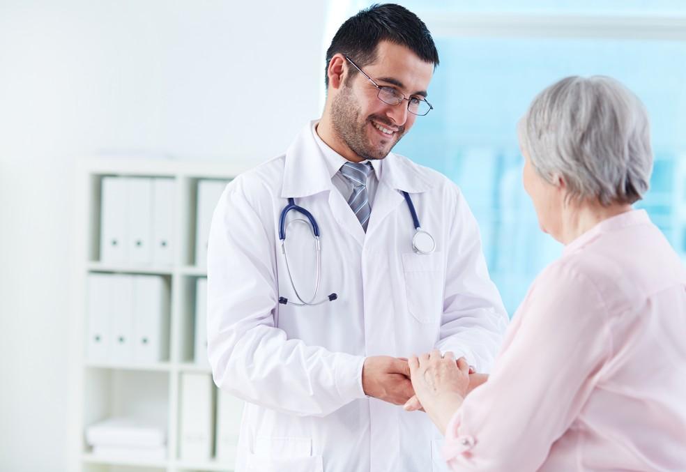 idosos medico